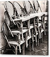 The Bistro Has Closed Acrylic Print by Olivier Le Queinec