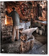 The Blacksmith Acrylic Print