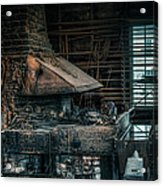 The Blacksmith's Forge - Industrial Acrylic Print