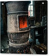 The Blacksmiths Furnace - Industrial Acrylic Print