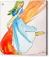 The Blazing Dancer Acrylic Print