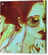 The Bleeding Dream - Self Portrait Acrylic Print