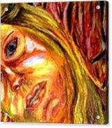 The Blonde 3 Acrylic Print