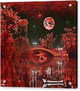 The Blood Moon Acrylic Print