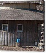 The Blue Bucket Acrylic Print