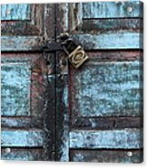 The Blue Door 2 Acrylic Print