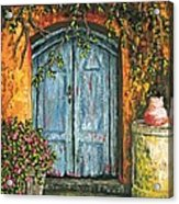 The Blue Door Acrylic Print
