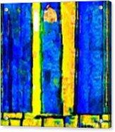 The Blue Doors Of La Rue Des Fauves Acrylic Print