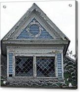 The Blue Gable Acrylic Print