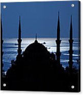 The Blue Mosque Acrylic Print