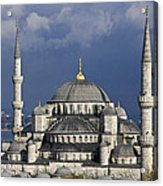 The Blue Mosque In Istanbul Acrylic Print