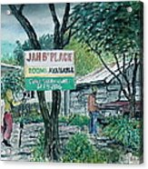 The Blue Mountains Of Jamaica Acrylic Print
