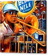 The Blue Nile Jazz Club Acrylic Print