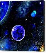 The Blue Planet Acrylic Print