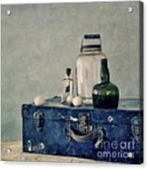 The Blue Suitcase Acrylic Print