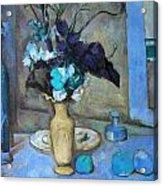 The Blue Vase Acrylic Print