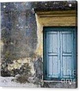 The Blue Window Acrylic Print