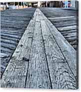 The Boardwalk Acrylic Print by JC Findley