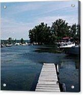 The Boat Dock  Acrylic Print