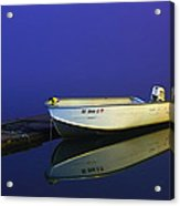 The Boat In The Fog Acrylic Print