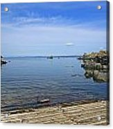 The Boat Launch Acrylic Print