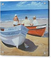 The Boaters Acrylic Print