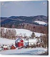 The Bogie Mountain Farm Acrylic Print