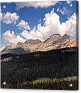 Mountain Pass - Colorado Acrylic Print