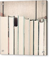 The Book Collection Acrylic Print