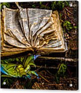 The Book Acrylic Print
