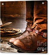 The Boots Acrylic Print