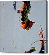 The Boss Bruce Springsteen Acrylic Print