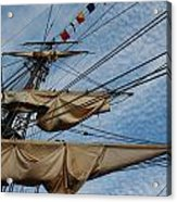 The Bounty's Rigging Acrylic Print