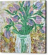 The Bouquet II Acrylic Print by Molly Roberts