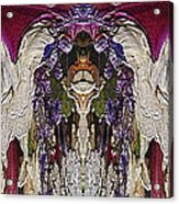 The Bouquet Unleashed 6 Acrylic Print by Tim Allen