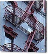 The Bowery Blues Acrylic Print