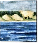 The Bowl - Dunes Study Acrylic Print
