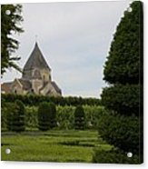 The Boxwood Garden - Villandry Acrylic Print