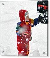 The Boy And The Box 2 Acrylic Print