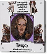 The Boy Friend, Us Poster Art, Twiggy Acrylic Print by Everett