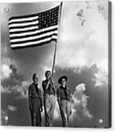 The Boy Scouts Acrylic Print