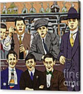The Boys At Blackpool Acrylic Print