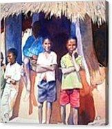 The Boys Of Malawi Acrylic Print