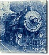 The Brakeman - Vintage Acrylic Print by Robert Frederick