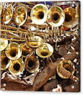 The Brass Section Acrylic Print