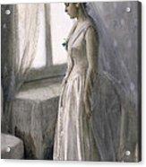 The Bride Acrylic Print by Anders Leonard Zorn