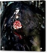 The Bride In Black Acrylic Print