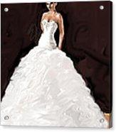 The Bride Acrylic Print