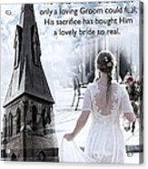 The Bride Of Christ Acrylic Print