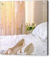 The Brides Sandals Acrylic Print